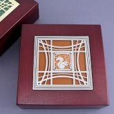 Handsome inlaid wooden boxes for men and women have it all - design, color and style!