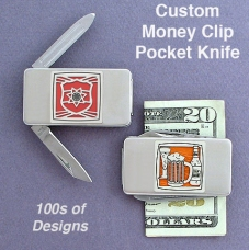 Cool Money Clips with Pocket Knives for Guys