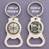 Custom Bottle Opener Keychains in 100s of Designs