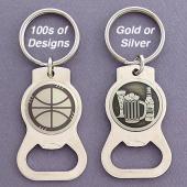 Custom Bottle Opener Keychains in 100s of Designs