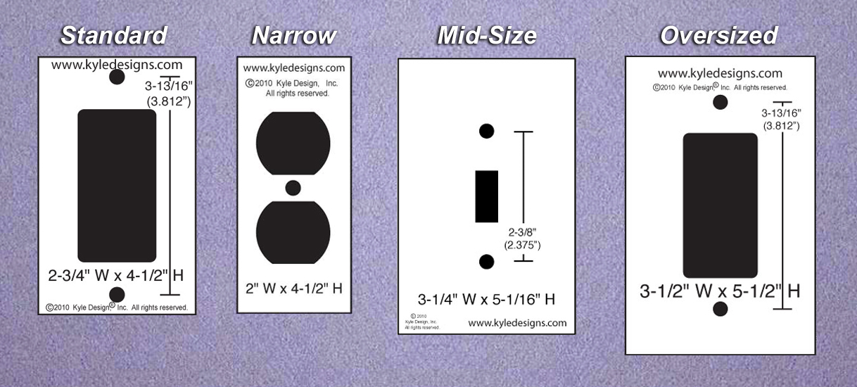 Combination Switch Plates