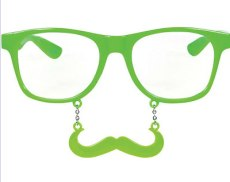 Mustache Party Glasses