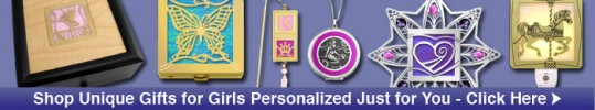 Shop Personalized Gifts for Girls