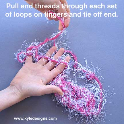 How to Bind Off a Knitting Loom | eHow