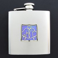Personalized Wedding Flask